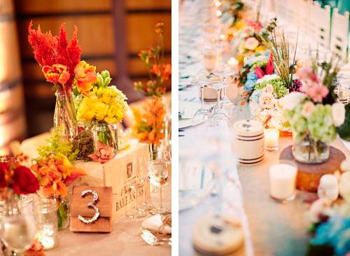 bodas_centros_de_mesa_flores_tarros_vasos_cajas_de_madera_blog_ana_pla_interiorismo_decoracion_composicion