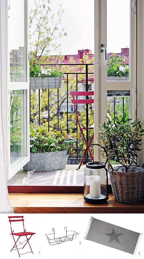 Exteriores con encanto ideas para balcones ana pla - Balcones con encanto ...