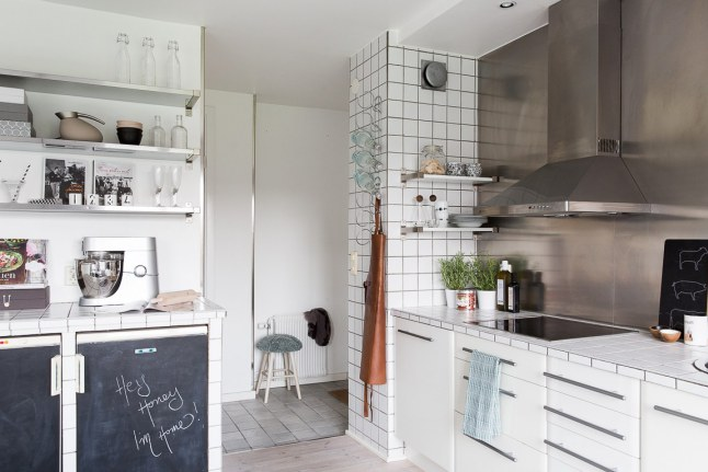 Cocina n rdica industrial ana pla interiorismo y - Cocinas nordicas ...
