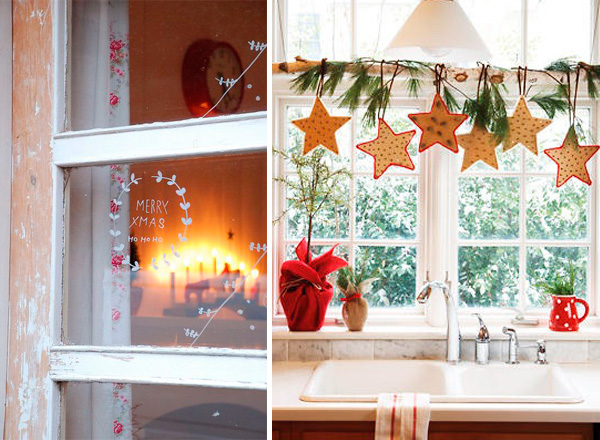 Decoracion Ventanas Navidad ~ Decora las ventanas en Navidad  Ana Pla  interiorismo y decoraci?n