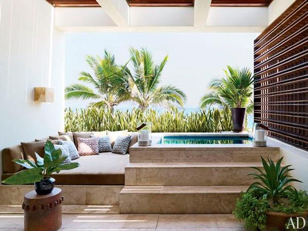 Piscinas peque as con encanto ana pla interiorismo y for Fotos de patios con piletas
