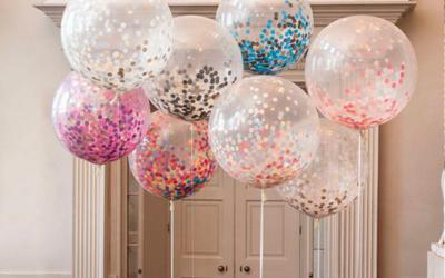 Decora tu evento con globos de helio