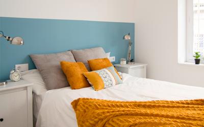 Antes y después de un piso en venta. Home Staging.
